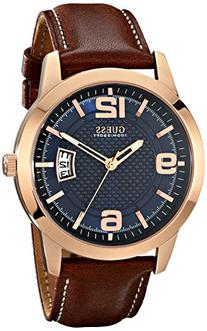 GUESS Men's U0494G2 Contemporary Rose Gold-Tone Stainless