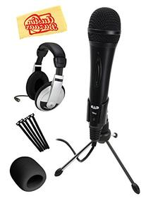 CAD U1-BK USB Dynamic Recording Microphone Bundle with