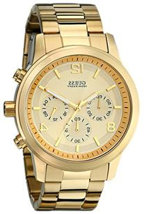 GUESS Men's U15061G2 Defining Style Gold-Tone Chronograph