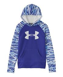 Under Armour Girls' Armour® Fleece Storm Big Logo Hoodie