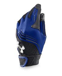 Under Armour Boys' UA Clean Up Batting Gloves Youth Medium Royal