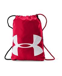 Under Armour Ozsee Sackpack, Red/Black, One Size