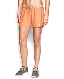 Under Armour Women's UA Play Up Shorts Large Afterglow