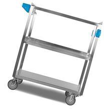 Carlisle UC5031827 Stainless Steel 18-10 Utility Cart, 500-