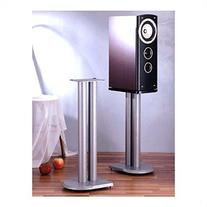 VTI UF Series Speaker Stands Pair in Grey Silver - 24""