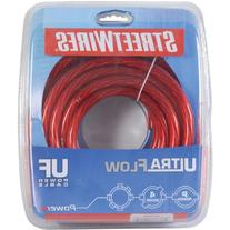 StreetWires UFX420R 4 AWG Power Cable Red 20 ft