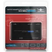 Vantec UGT-CR513-BK All-In-One Memory Card Reader/Writer