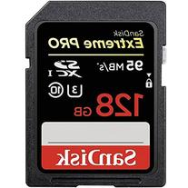 SanDisk Extreme PRO 128GB up to 95MB/s UHS-I/U3 SDXC Flash