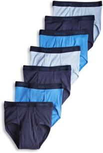 Hanes Ultimate Men's 7-Pack Full-Cut Pre-Shrunk Briefs-