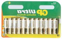 12 Pack Gp Ultra Alkaline Batteries High Performance