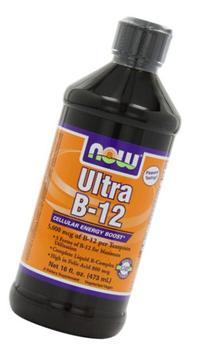 NOW Foods Ultra B-12 Liquid, 16-Fluid Ounces