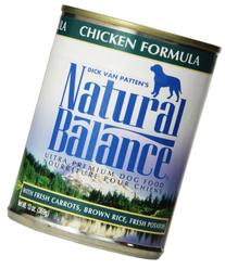 Natural Balance Ultra Premium Canned Dog Food, Chicken