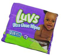 Luvs Ultraclean Baby Wipes - Scented - 216 ct