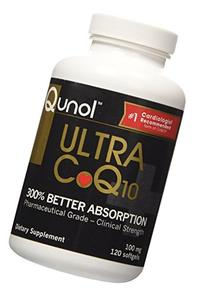 Qunol Ultra CoQ10 - 100% Soluble Coq10 100mg - 3X Better