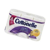 Ultra Comfort Care Double Roll Toilet Paper, 6 Count