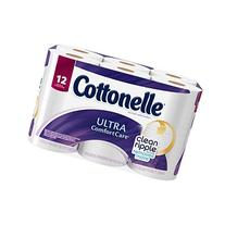 Cottonelle Ultra Comfort Care Toilet Paper, Big Roll, 12