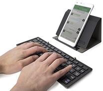 Plugable Ultra-Portable Bluetooth Folding Keyboard for