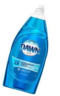 Dawn Ultra Dishwashing Liquid Dish Soap, Original Scent, 34.