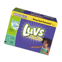 Luvs Ultra Leakguards Diapers, Size 6, 72 Count