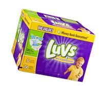 Luvs Ultra Leakguards Diapers - 74 ct., Size 74 ct