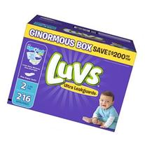 Luvs Ultra Leakguards Newborn Size 1 Disposable Diapers -