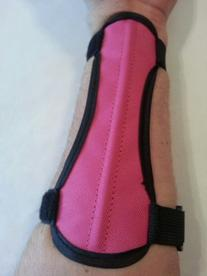 Ultra Light Weight Archery Arm Guard, Forms to the Arm for a