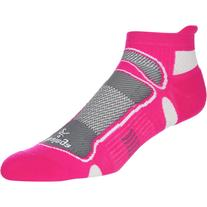 Balega Ultra Light No-Show Running Sock Pink/Coal/White, M