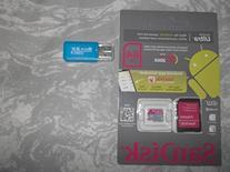SanDisk Ultra 64GB MicroSDXC Class 10/UHS-1 Memory Card