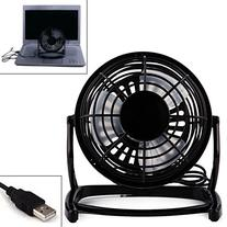 HDE USB Powered Desk Fan Personal Air Blower for PC Notebook
