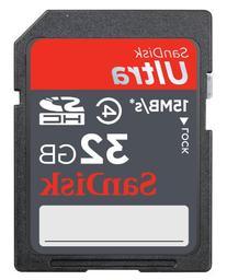 SanDisk Ultra SDHC 32GB Class 6
