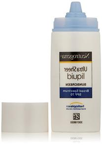 Neutrogena Ultra Sheer Liquid Sunscreen SPF 70 -- 1.4 fl oz