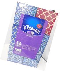 Kleenex Ultra Facial Tissue, 12 Count