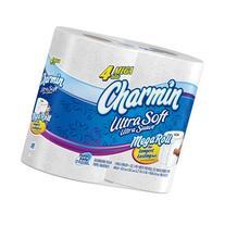 Charmin Ultra Soft Toilet Paper 4 Mega Rolls, Pack Of 6; 24