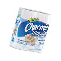 Charmin Ultra Soft Toilet Paper Large Rolls, 4-Count