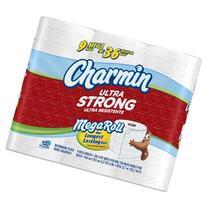 Charmin Ultra Strong, Mega Roll,, 2 Ply, White-6pk