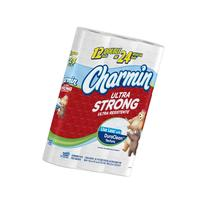 Charmin Ultra Strong Toilet Paper Double Rolls, 12 Count