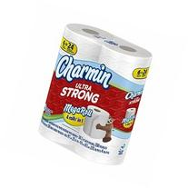 Charmin Ultra Strong Toilet Paper Tissue 6 Mega Rolls = 24