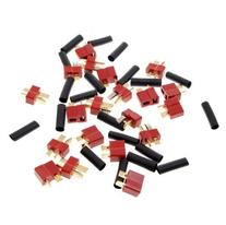 Sunkee 10 Pairs Ultra T Plug Connectors Deans Style For RC
