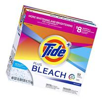 Tide Laundry Detergent with Bleach Powder, 95 Ounce