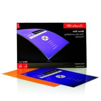 Swingline GBC UltraClear Thermal Laminating Pouches, Menu