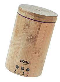 NOW Solutions Ultrasonic Real Bamboo Essential Oil Diffuser