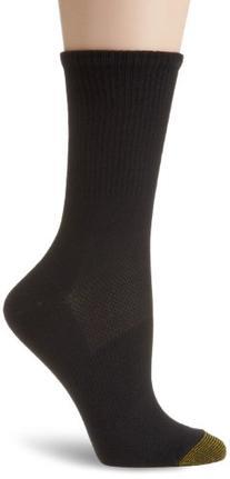 Gold Toe Women's 3 Pair Pack Ultratec Coolmax Crew Socks,