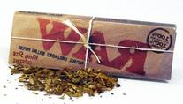 RAW Natural Unbleached King Supreme Rolling Paper #54