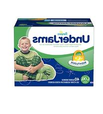Pampers Underjams for Boys, L/xl, Size 8 , 40 Ct