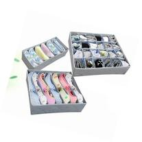 3pcs Underwear Bra Socks Ties Divider Closet Container