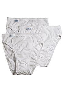 Jockey Women's Underwear Elance French Cut - 3 Pack, white,