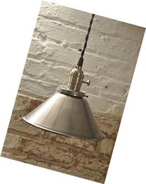 10 Inch Unfinished Steel Kitchen Pendant Light