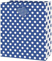 Royal Blue Polka Dot Gift Bag