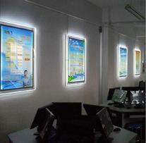 A4 Single Sided LED Wall Mounted LED Light Pocket with