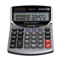 Universal 15966 Portable Minidesk/Handheld Calculator, Solar